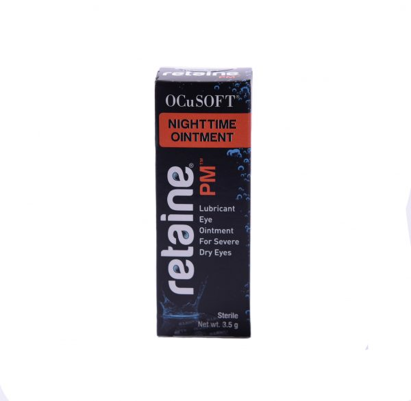 retaine nightime ointment. Lubricant eye ointment for severe dry eyes