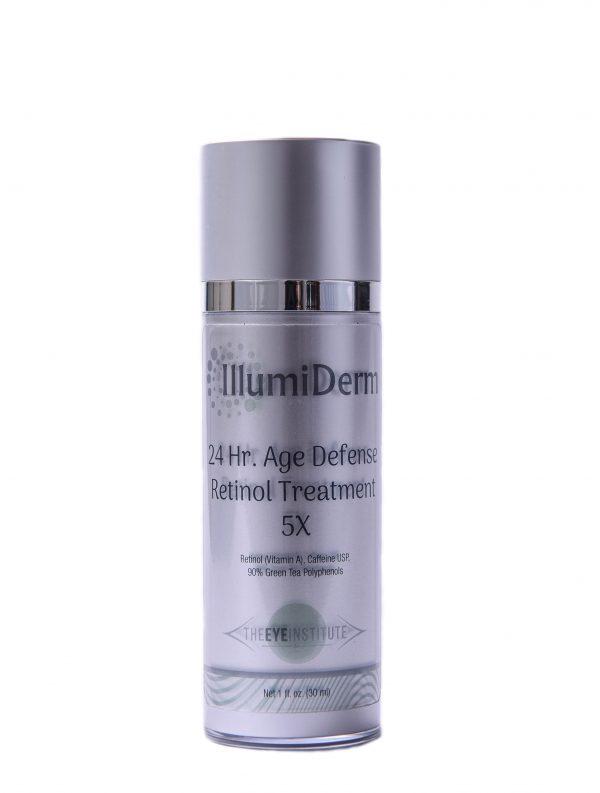 illumi derm. 24 hour age defense retinol treatment.
